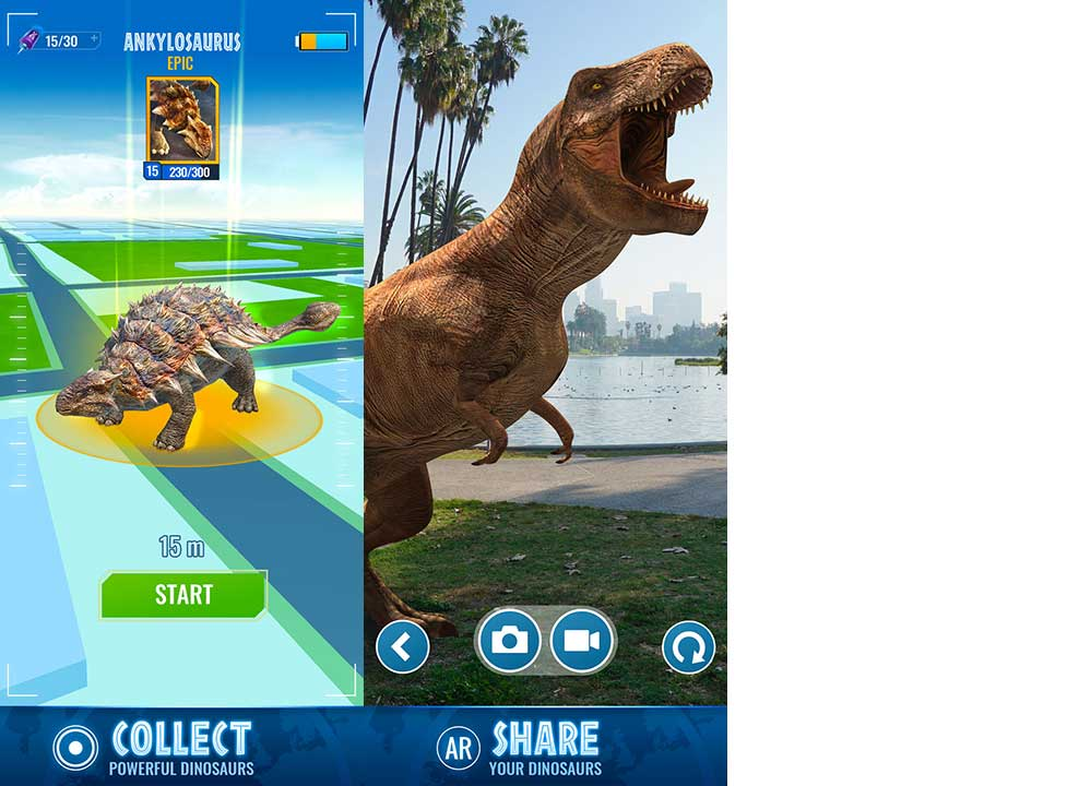 Game Jurassic World Alive Content2