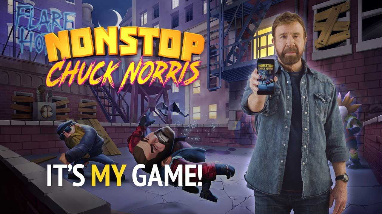 Game Nonstop Chuck Norris Cover