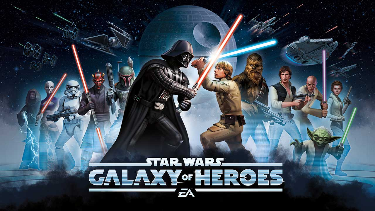 Game Star Wars Galaxy Of Heros Cover