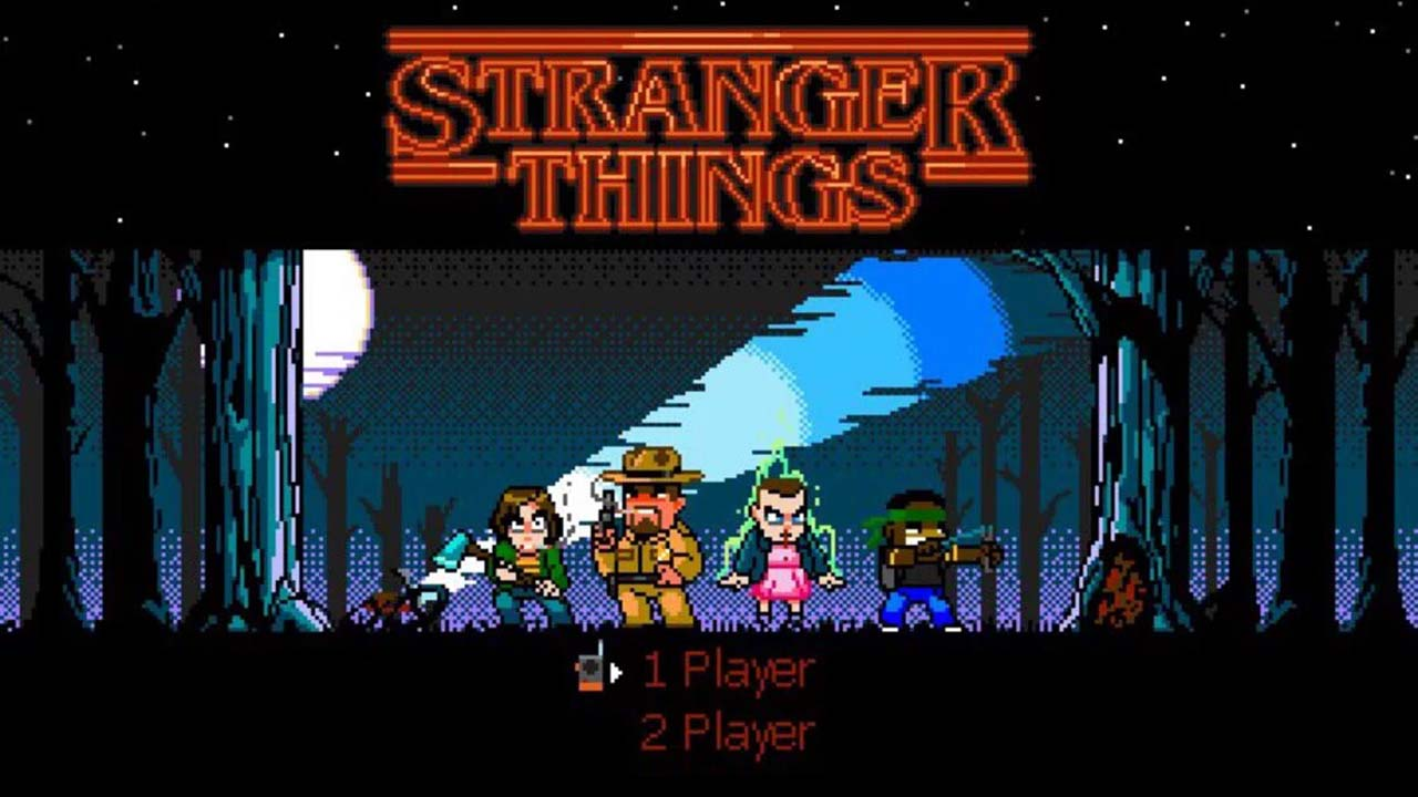 Game Stranger Things Cover