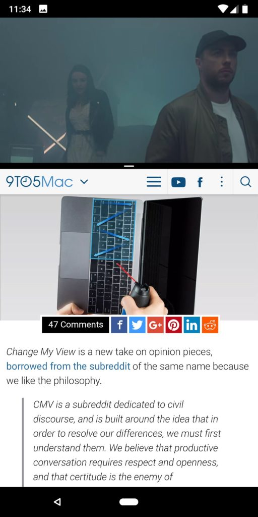 Google Pixel 2 Xl Split Screen
