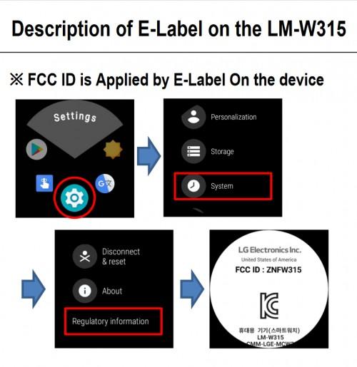 LG Smart Watch รุ่น Cellular