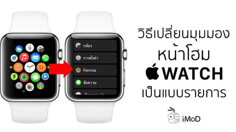 How To Change App View On Apple Watch Cover