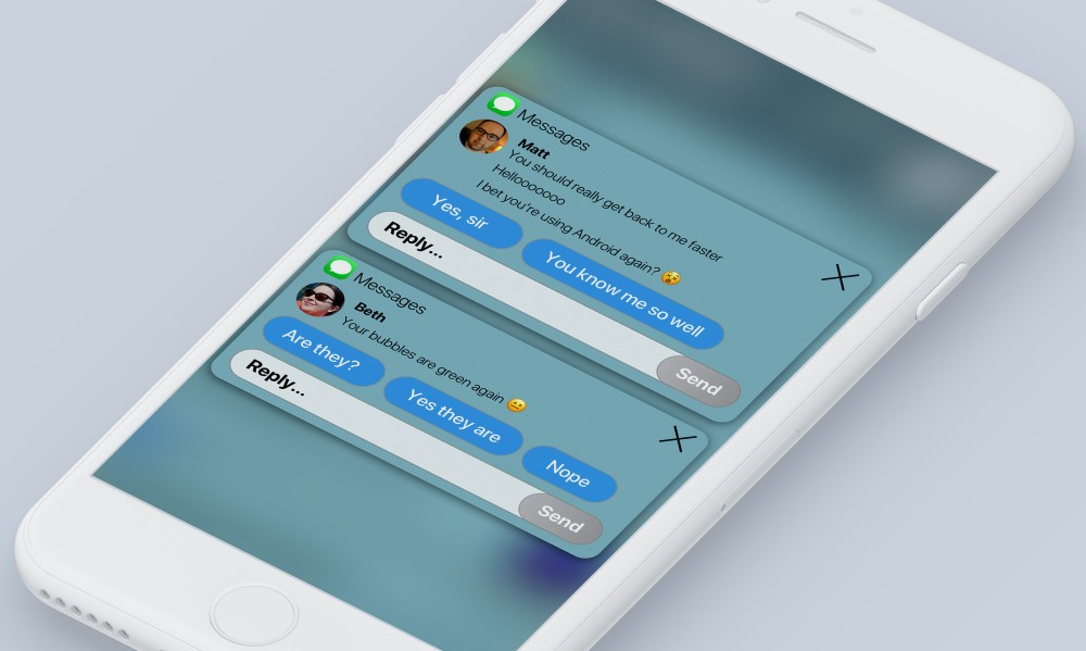 Ios 12 Notification Group Concept 3