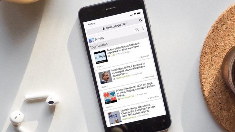 Iphone Google News Hero