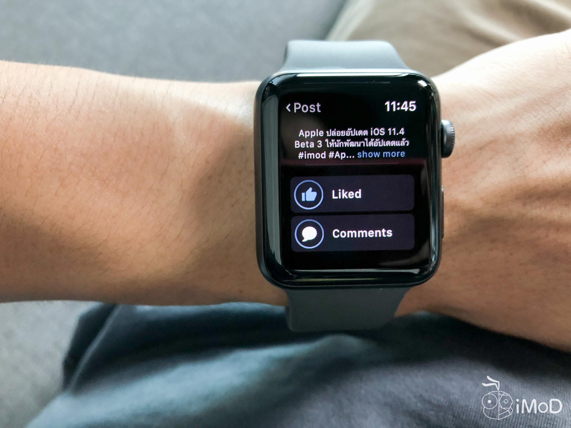 Littlebook Faecbook Apple Watch 2