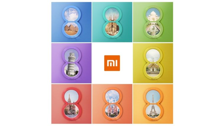 Mi 8 Thailand Launch Cover