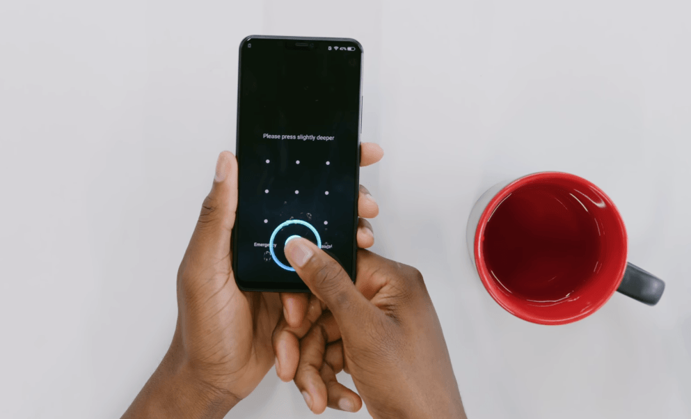 Vivo X21 Indisplay Fingerprint Scanner Test 1