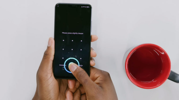 Vivo X21 Indisplay Fingerprint Scanner Test