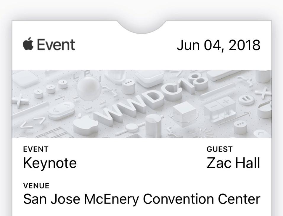 Wwdc 2018 Keynote Date 1