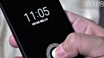 Xiaomi Flagship Phone Mi 8 Fingerprint Sensor