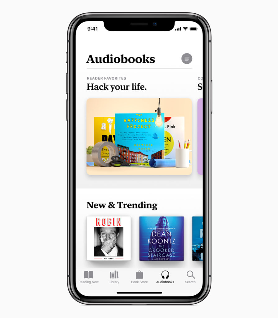 Apple Books Audio Books 06122018