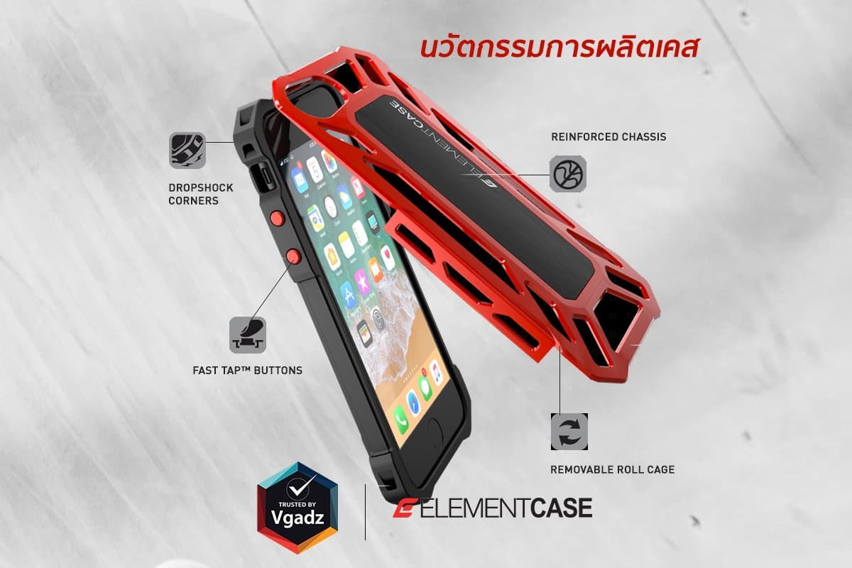 Element Case Rollcase Iphone8 7plus 3