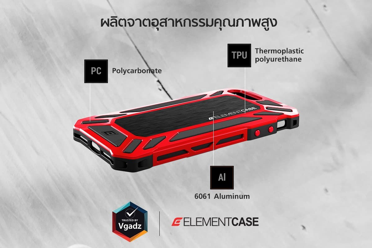 Element Case Rollcase Iphone8 7plus 4