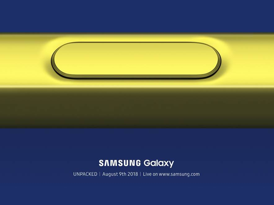 Galaxy Note 9 Unpacked
