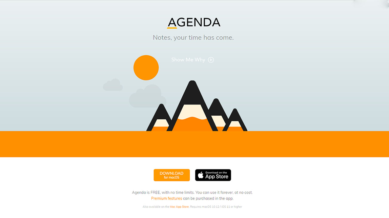 App Agenda Cover