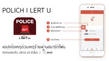 App Police I Lert U Cover