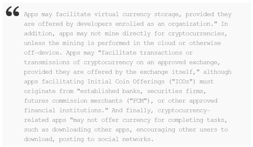 Apple Bans Cryptocurrency Mining Ios And Mac Appstore 1