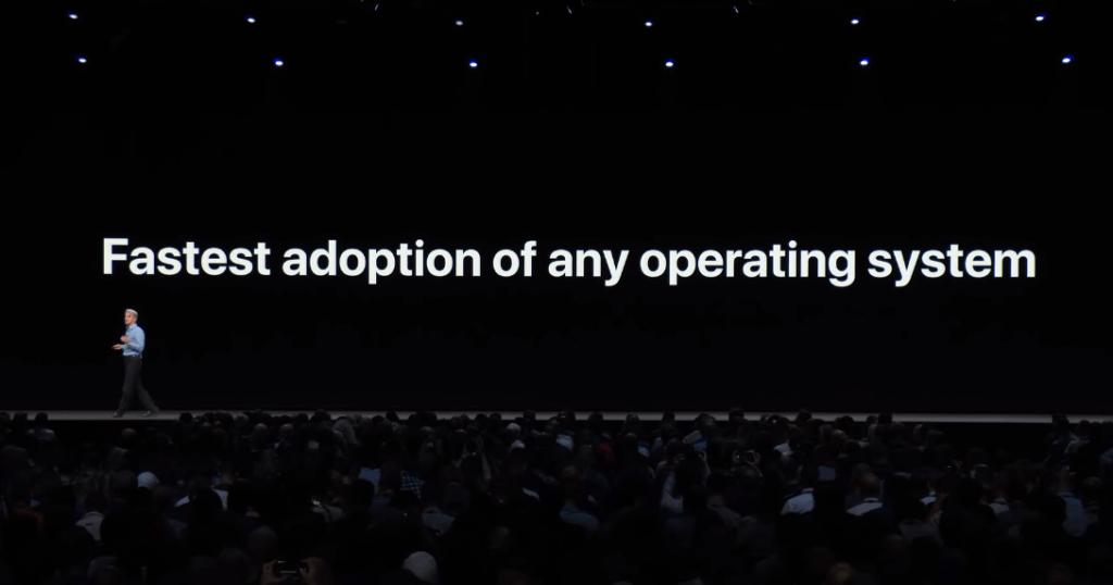 Apple Said Ios 11 Fast Adoption 3