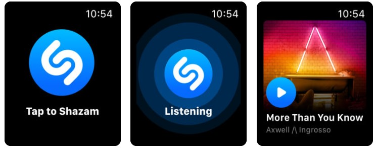 Apple Watch Daily Life App Shazam