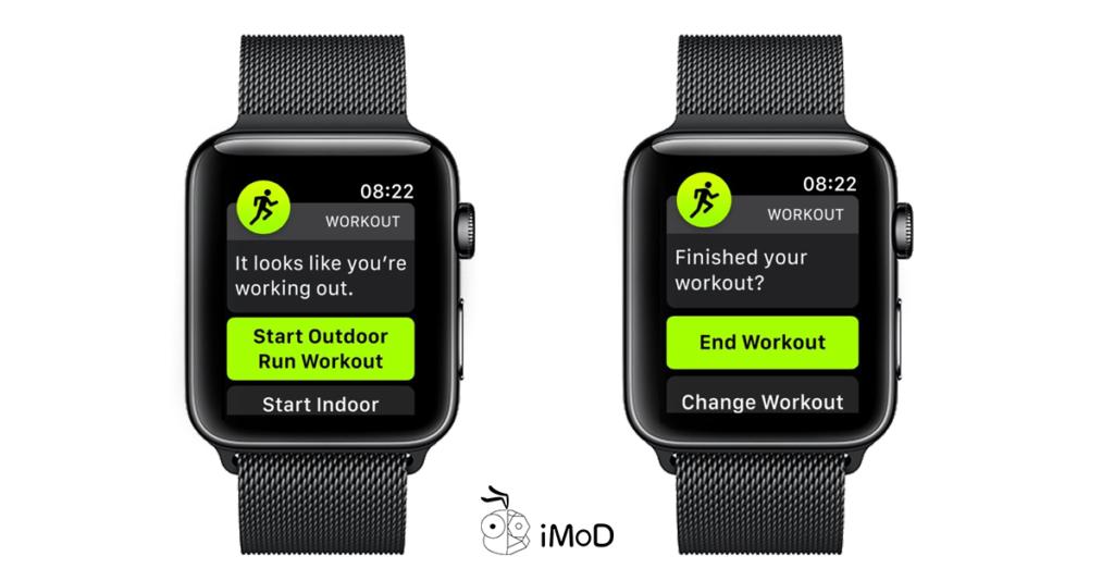 Apple Watch Workout Detection Reminder Watchos 5 3