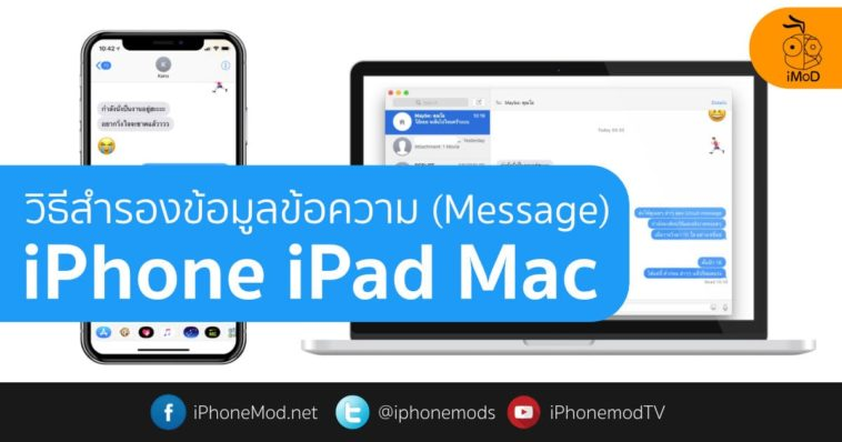 Backup Message To Icloud Mac Iphone Cover