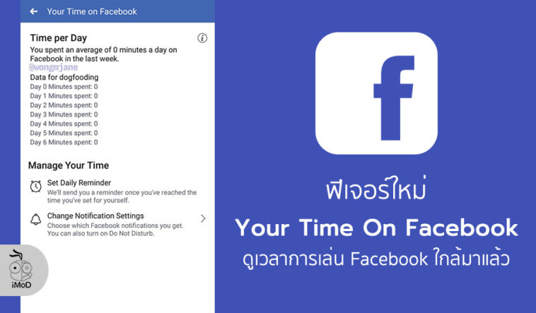 Facebook Developing Your Time On Facebook New Feature