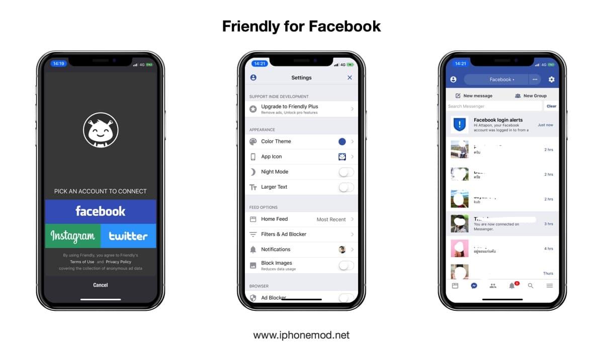 Friendly For Facebook App