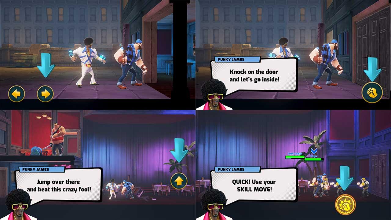 Game Mayhem Combat Control