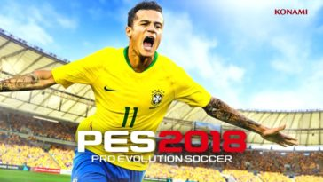 Game Pes 2018 Cover
