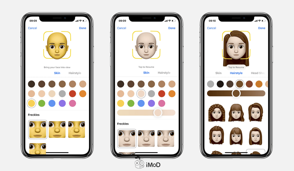 How To Create Memoji By Your Own Ios 12 Iphone X 2