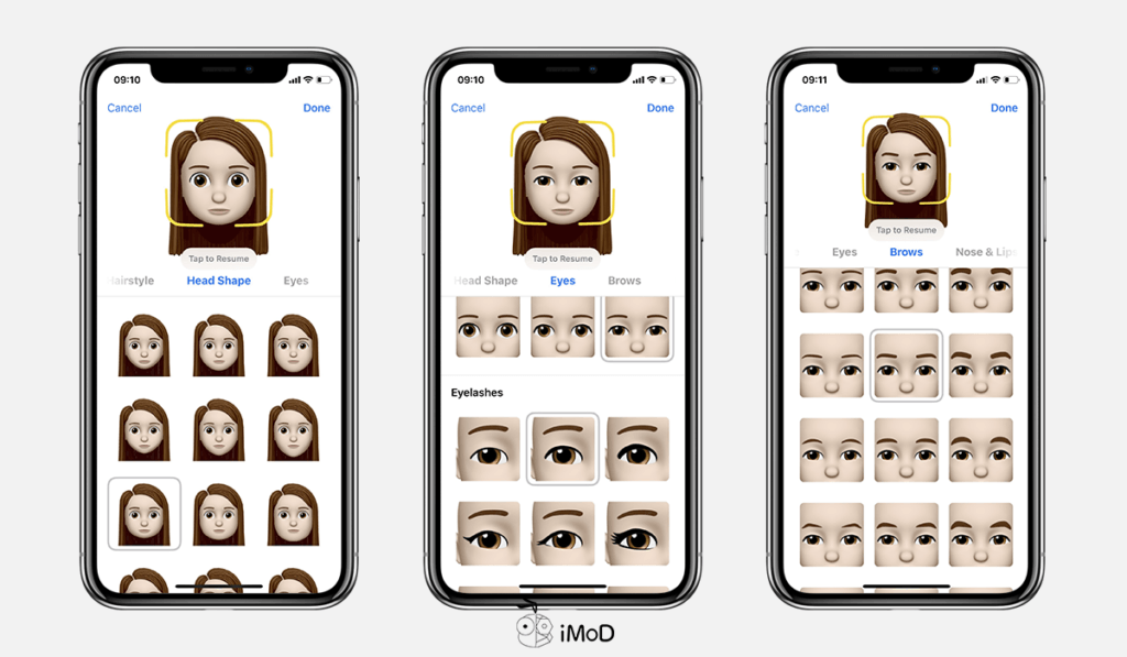 How To Create Memoji By Your Own Ios 12 Iphone X 3