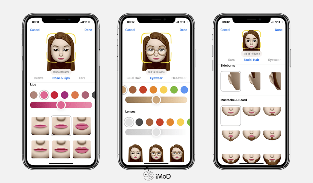 How To Create Memoji By Your Own Ios 12 Iphone X 4