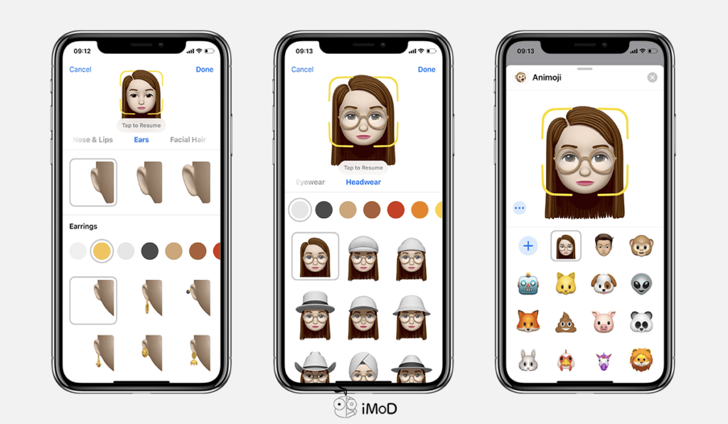 How To Create Memoji By Your Own Ios 12 Iphone X 5