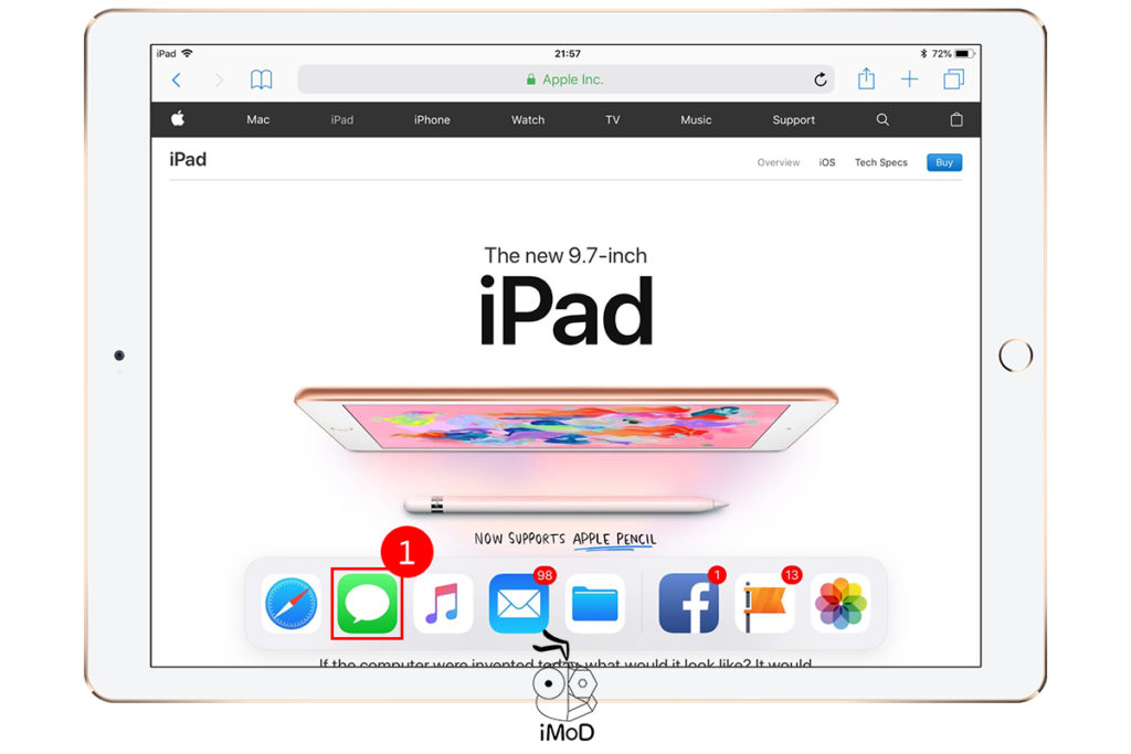 How To Setting And Use Multitask Ipad 1