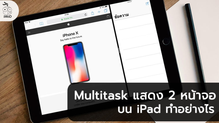 How To Setting And Use Multitask Ipad Cover