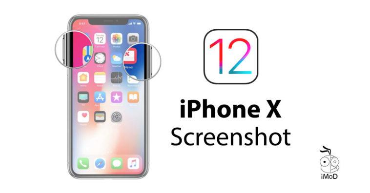 Ios 12 Beta 1 Prevent Iphone X Screenshot