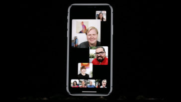 Ios 12 Includes Group Facetimes