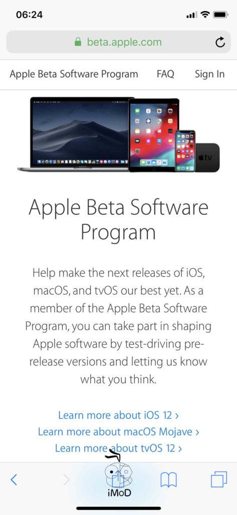 Ios Public Beta Install 001