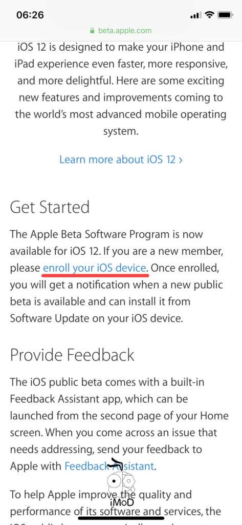 Ios Public Beta Install 005