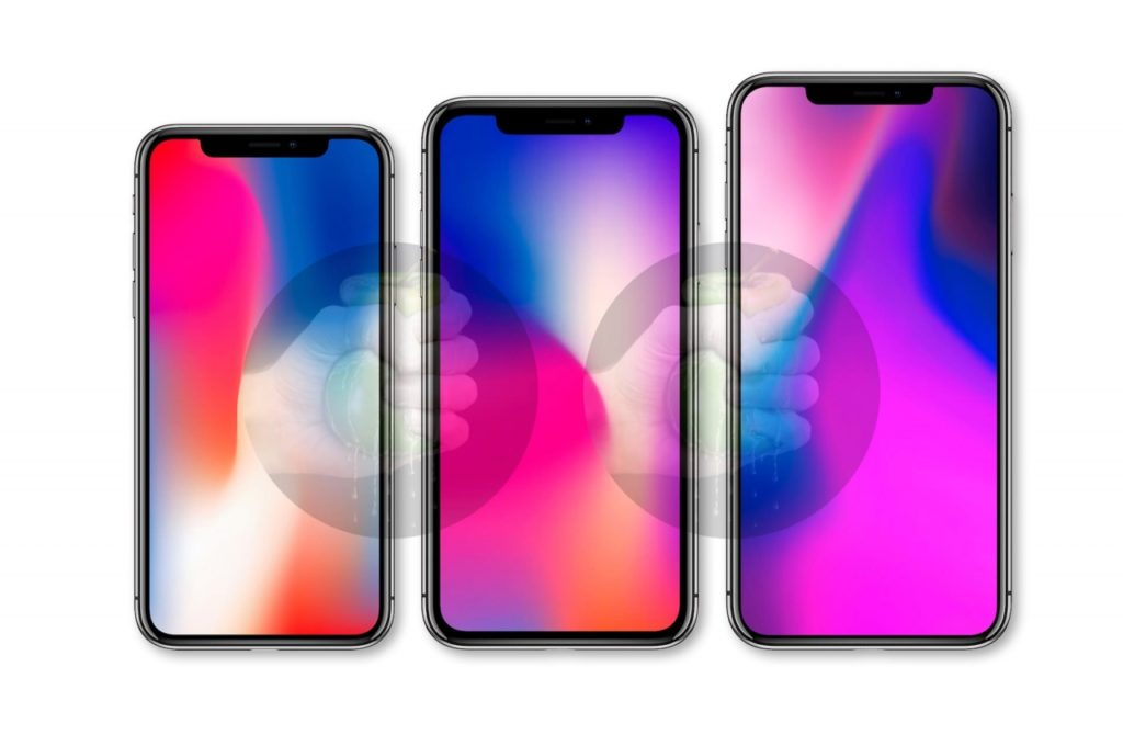 Iphone 2018 Three Model Renders Image 1