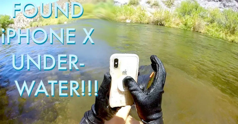 Iphone X Two Weeks River Returned Owner
