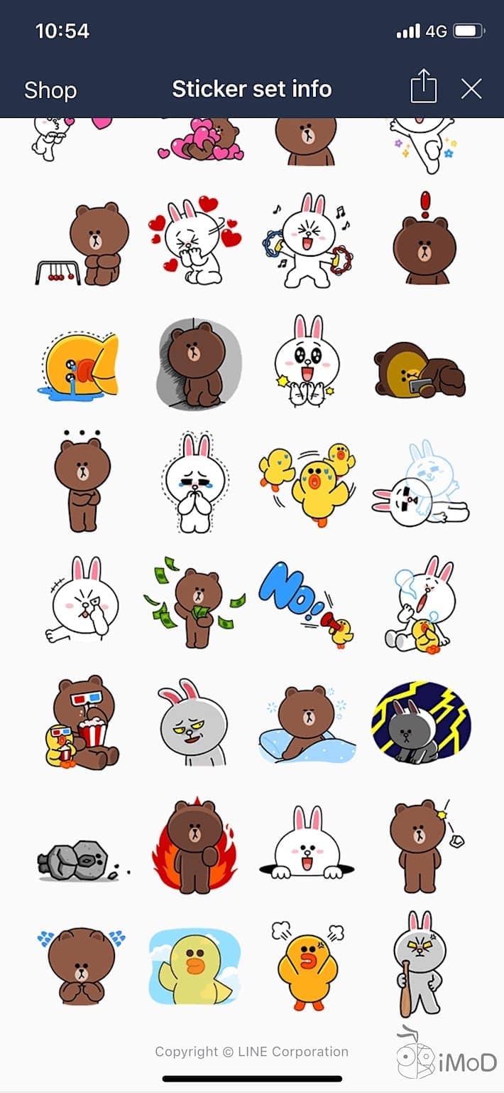 Line Sticker Free Jun2018 2