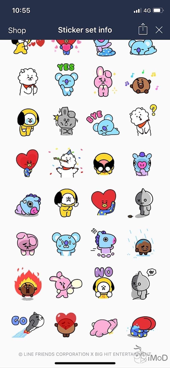 Line Sticker Free Jun2018 6