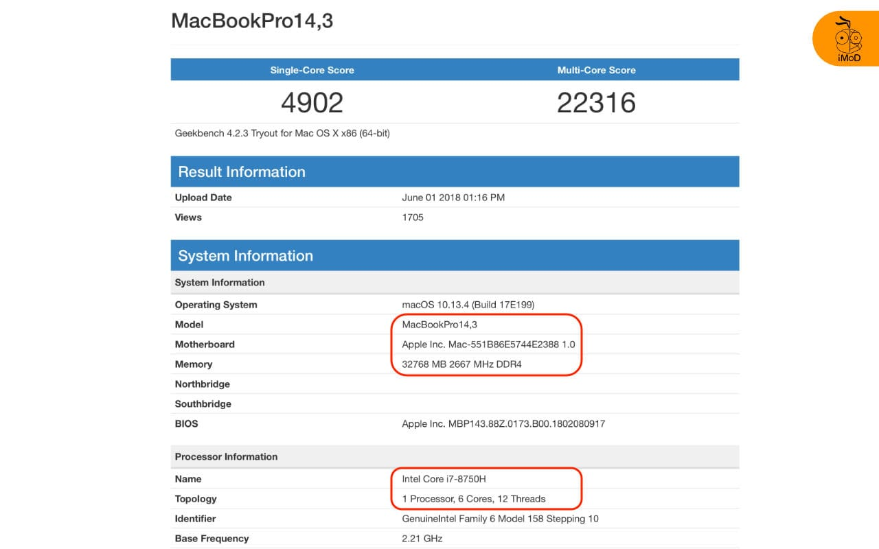 Macbook Pro 32gb Ram I7 6 Cores Leaked