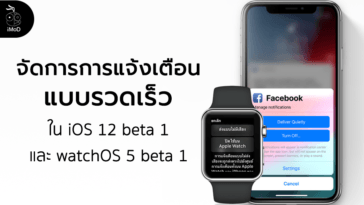 Manage Notifications Quickly In Ios12 Watchos5