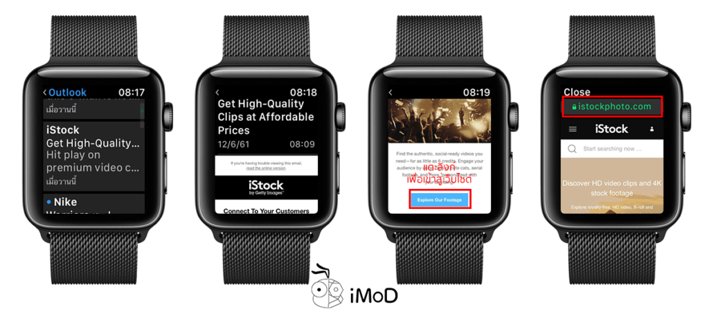 Show Web Content Mail App On Apple Watch Watchos5 2