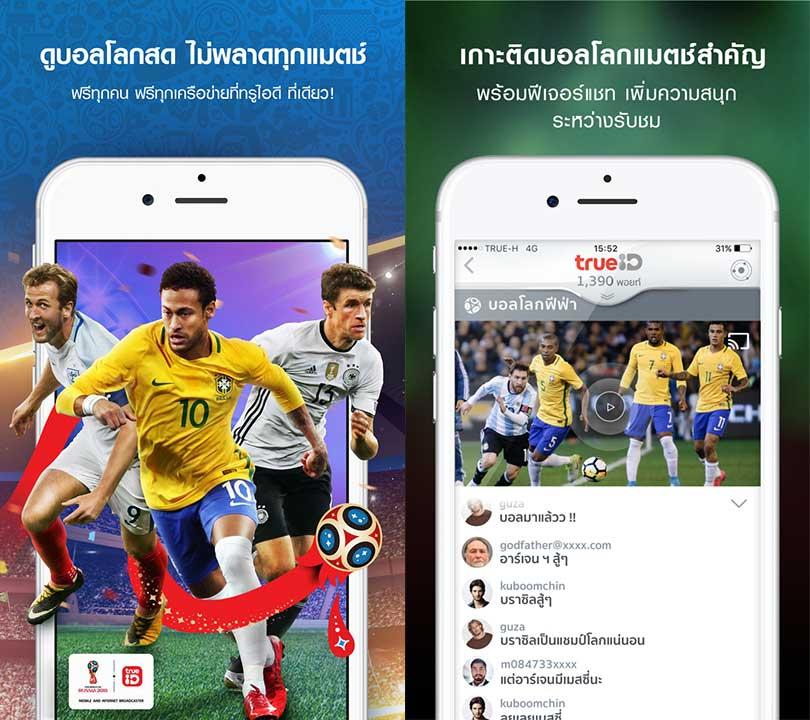 Trueid World Football 2018 Content1