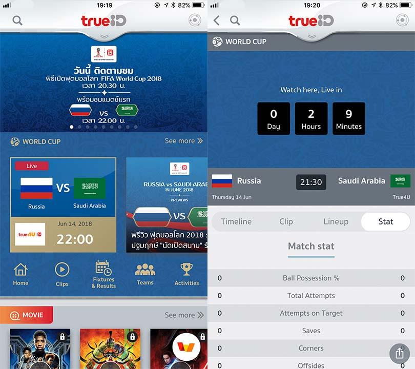 Trueid World Football 2018 Content3