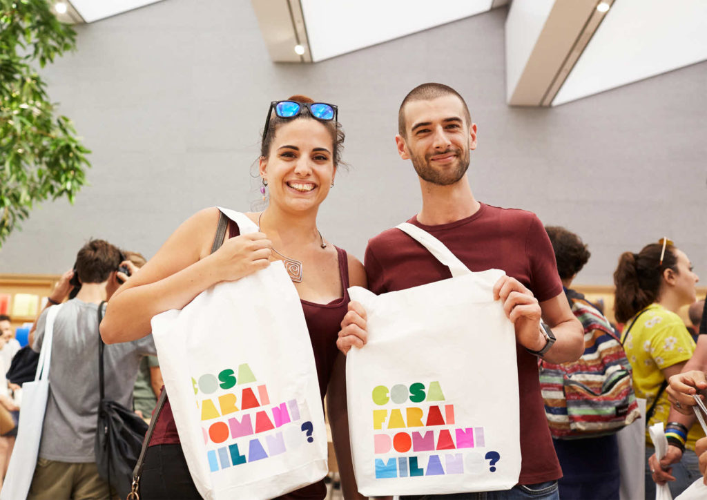Apple Milan Piazza Liberty Local Artists Totebag 07262018